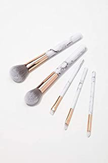 Rsentera Premium Synthetic Makeup Brush Set Foundation Blending Blush Face Powder (Pack of 5)