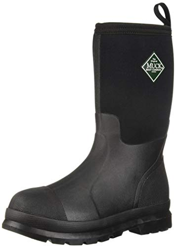 Muck Boot unisex child Kid's Chore Snow Boot, Black, 3 Little Kid US