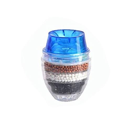 LZZR Grifo de la cocina grifo purificador de agua for uso doméstico 5 capas del purificador de agua filtro de carbón activado Filtración grifo purificador (Color : BLUE)
