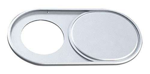 Protetor Tampa Prata Anti Espião P/Webcam Notebook Tablet