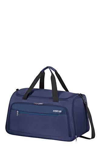 American Tourister Heat Wave - Travel Duffle S, 55 cm, 50 Litre, Blue...
