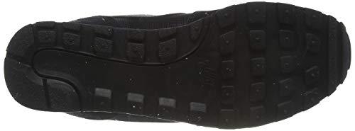 Nike MD Runner 2, Zapatillas de Running Mujer, Negro (Black / Black-White), 42