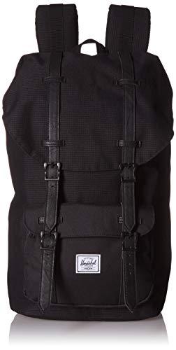 Herschel Rucksack Little America Classics Backpacks 25 l Polyester,Dark Grid/Black, One size