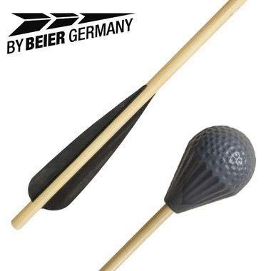 by Beier Germany Universal LARP Armbrustbolzen mit Sicherheitskopf, Mehrfarbig, Normal