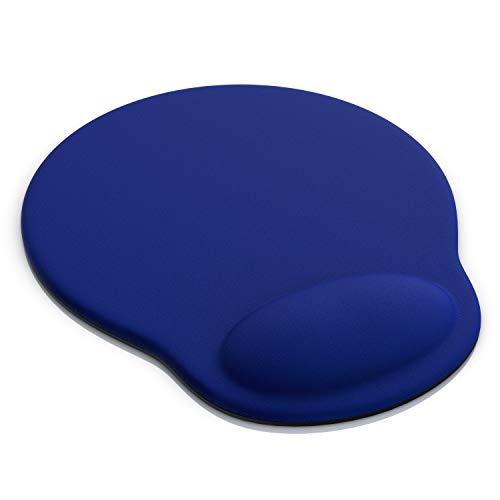 TITANWOLF - Tapis de Souris avec Coussin en Gel - Repose-Poignet Gaming - Mousepad Wrist Rest - Confort Repose Poignets Ergonomique - Hydrofuge & Lavable - Base antidérapante - PC Laptop Notebook