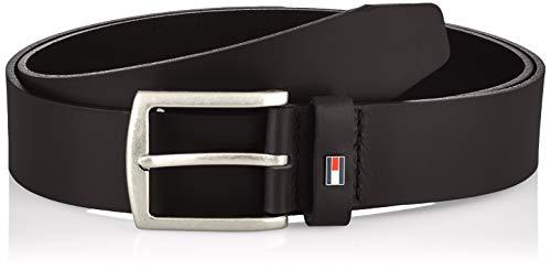 Tommy Hilfiger Denton 3.5 Cinturón, Negro, 100 cm para Hombre
