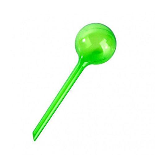 Ampoule d'arrosage automatique pour plante en pot et jardin d'intérieur, PVC, Transparent Green, 13cm*5cm