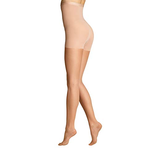ITEM m6 - SHAPE TIGHTS INVISIBLE Damen | light tan / butterscotch | S | L1 | Feinstrumpfhose im 15 DEN Look