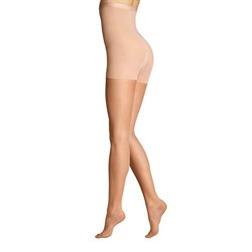 ITEM m6 - SHAPE TIGHTS INVISIBLE Damen | light tan / butterscotch | S | L1 | Feinstrumpfhose im 15 DEN Look