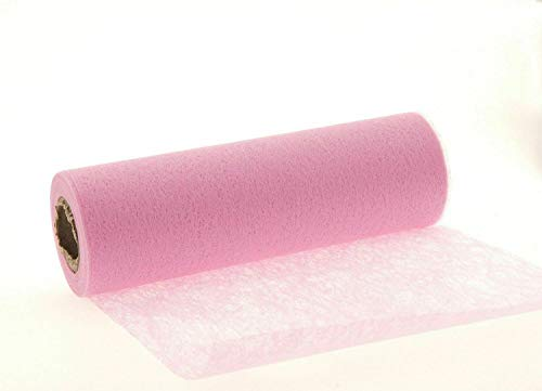 25 Meter Vlies Tischband Tischläufer Tischedeko Dekovlies rosa