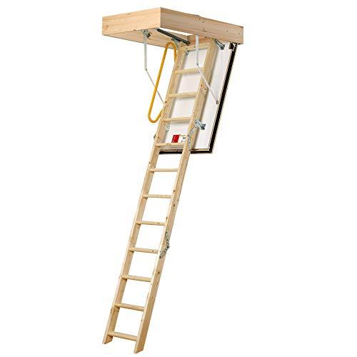 Laddaway 1530-005 - Escalera para áticos (tamaño: 2.80m)