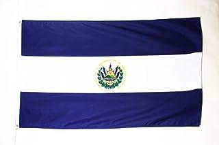 EL SALVADOR FLAG 3 英尺 x 5 英尺 - 萨拉维达州扁平 90 x 150 厘米 - 帽檐 3x5 英尺 浅涤纶 - 澳洲旗帜