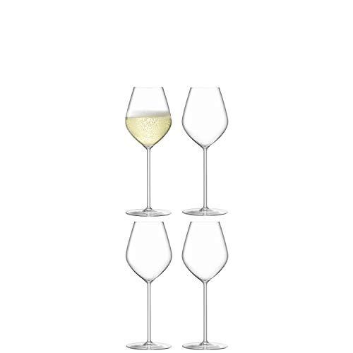 LSA Borough Champagne/ Prosecco Tulip Glass, set of 4