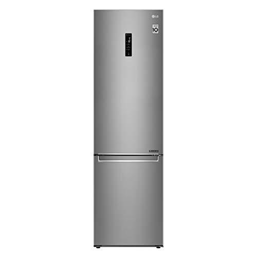 LG GBB72SADXN Nevera Smart Combinato Total No Frost 384 L, Clase A+++ -10%, 36 dB con Linear y Door Cooling, Fresh Balancer y Converter – Nevera con congelador, Wi-Fi y pantalla LED exterior