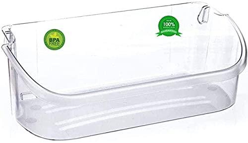 240356402 Door Bin Shelf - Compatible With Frigidaire 240356402, AP2549958, PS430122 Refrigerator Door Bin Works For Top 2 Shelf (Clear)