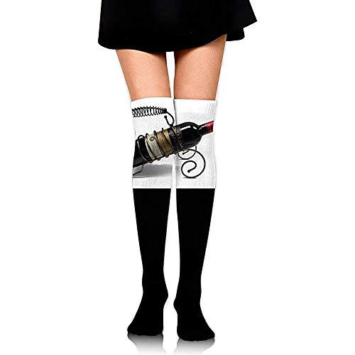 BK Creativity Socken,Rotwein Auf Metall Weinregal Unisex Weiche Bequeme Socken Für Sportschule Arbeit 65cm