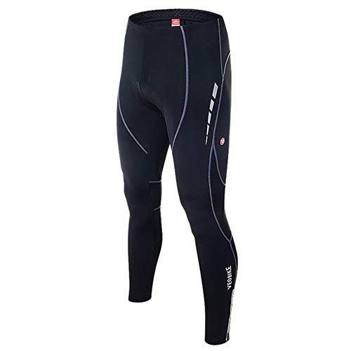YYDM 5D Transpirable Cojines del Gel de Bicicletas Pantalones Cortos, Bicicleta de montaña Culote Corto Deportes de los Hombres, de Ciclo al Aire Libre,Trousers,M