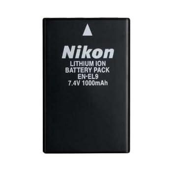 Nikon リチャージャブルLi-ionバッテリー EN-EL9 (D60/D40X/D40用)