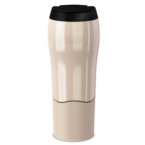 Dexam Mighty Mug Travel Mug 'the mug that won't fall over' Thermos in Pearl White 17920226