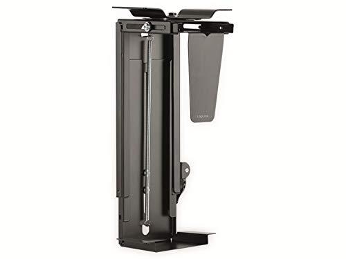 LogiLink PC-Halterung,drehbar,mit Schnellverschluss Max.10KG, schwarz