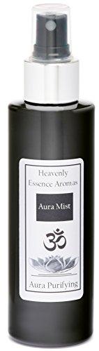 Heavenly Essence Aromas Ltd Spray aurique purifiant - Aromathérapie biologique 100 % naturelle - Délicate vaporisation spirituelle