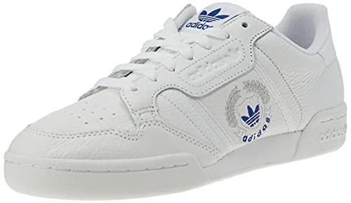 adidas Continental 80, Scarpe da Ginnastica Uomo, Ftwr White/Ftwr White/Ftwr White, 41 1/3 EU