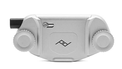 Peak Design Capture V3 - Supporto per fotocamera, senza placca, colore: Argento