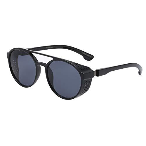 Skang - Gafas de sol para hombre, estilo retro, antiradiación