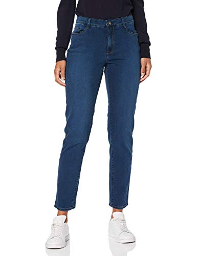 BRAX Damen Style Mary Planet Nachhaltige 5-Pocket Jeans, Slightly Used Regular Blue, 42