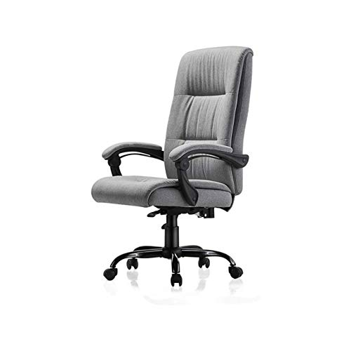 GYZCZX Computer Chair Fabric Chair Office Chair Back Chair Reclining Rotary Lifting Chair Stool Comfortable Home