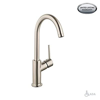 Hansgrohe 32082001 Talis S Single Hole Faucet, Chrome