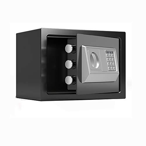 ZCF Security Safes Mini-Safes, elektronischer Sicherheits-Safe Passwort-Tastatur-Tastensperre for das Home-Office-Hotel Verwenden Sie Schmuck Bargeld Wertsachen Lagerung