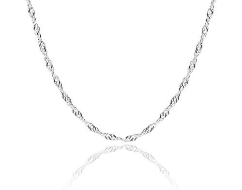 Cozmos Jewellery 36inch/91cm_1mm_Twist_Curb_C11