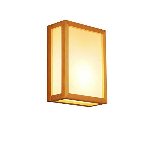 KMYX Applique Murale Japonaise Lampe de Chevet Chambre Allée Salon Appliques Murales Lumière Moderne Moderne Corridor Minimaliste E27 Lampe Murale