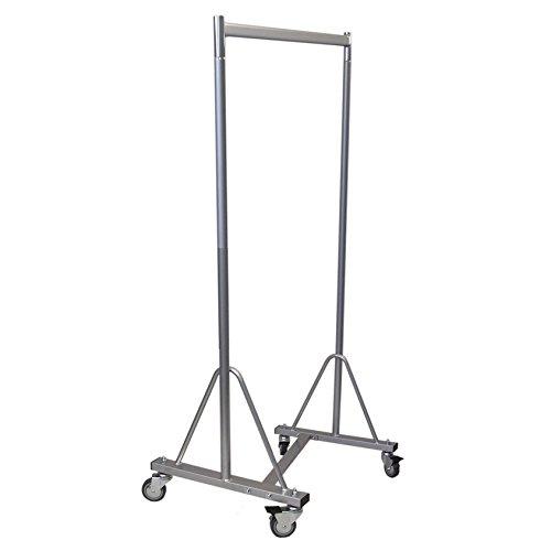 Stabiler Kleiderständer fahrbar für professionellen Einsatz auf Rollen 100cm 160kg rollbar