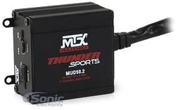 MTX MUD50.2 200W Max 2 Channel Class D Power Sports Amplifier