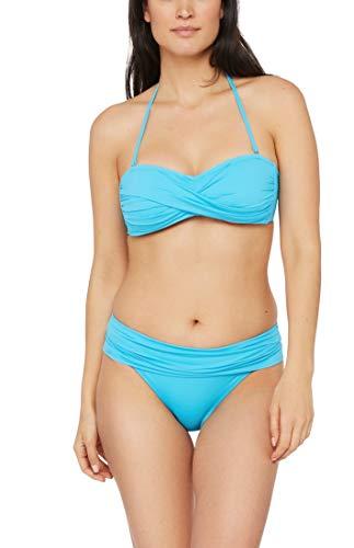 La Blanca Women's Island Goddess Bandeau Bikini Swimsuit Top, Poolside, 12