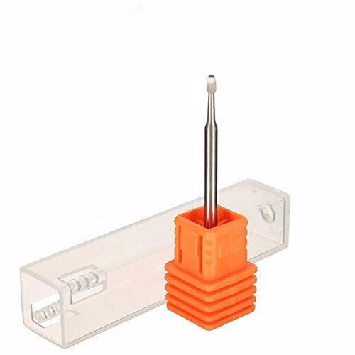 MLH-MLH 3mm Electric Carbide Nail Drill Bit Silver Nail Art Drill File Bits Drill
