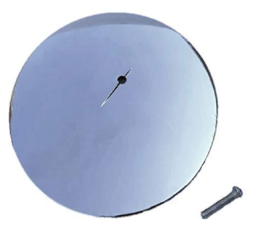 Duschablaufabdeckung, 115 mm, chromfarben, Ersatzteil, Kappe