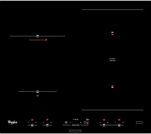 Whirlpool ACM 918/BA Plaque – Plaque (intégré, induction, noir, 1,5 m, 7200 W, 58 cm)