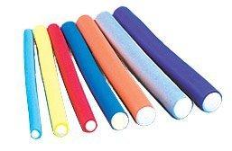 "Annie 10'' Long Flexible Twist-flex Hair Roller Rods, 5/16"" Green"