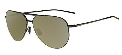 Porsche Gafas de Sol Design P'8688 Black/Green Silver 62/12/145 hombre