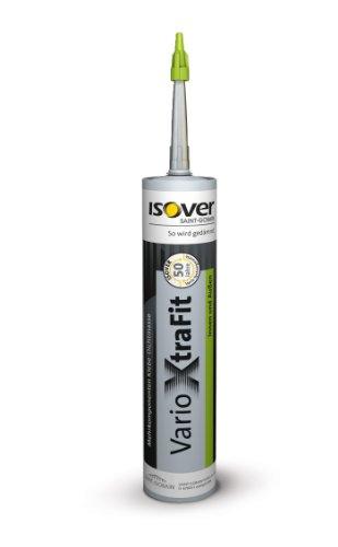 Isover Vario XtraFit Dichtmasse 310 ml Mehrkomponenten-Klebe-Dichtmasse für Innen und Außen