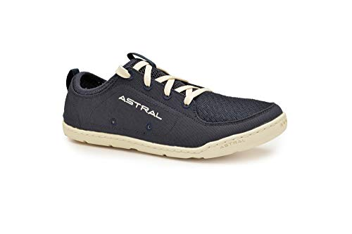 Astral Women's Loyak Everyday Outdoor Minimalist Sneakers, Lightweight and Flexible, Made for Water, Casual, Travel, and Boat, Navy/White, 10 M US
