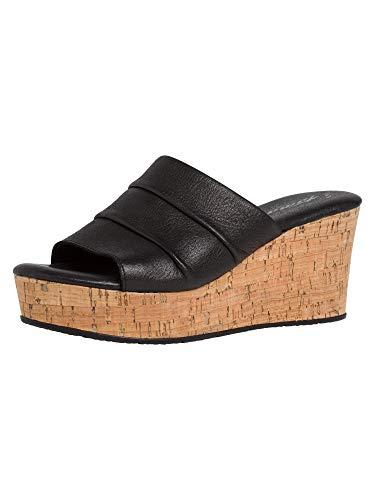 Tamaris Damen Sandalette 1-1-27222-36 001 schwarz normal Größe: 38 EU