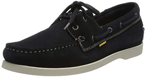 camel active Herren Sweep Low lace Shoes Mokassins, Navy Blue, 40 EU