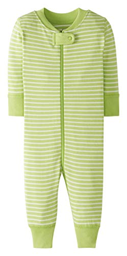 Moon and Back by Hanna Andersson One Piece Footless Pajamas infant-and-toddler-sleepers, lindgrün, 12-18 Months