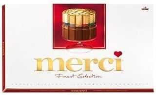 Merci Chocolate Bar Assortment 400g (3-pack) by Merci
