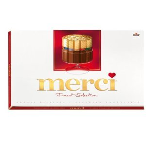 Merci Chocolate Bar Assortment 400g (3-pack) by Storck