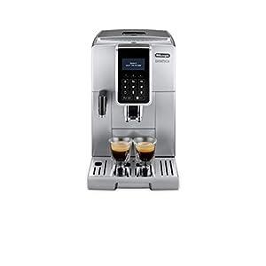 De'Longhi Dinamica, Fully Automatic Bean to Cup Coffee Machine, Cappuccino, Espresso Coffee Maker, ECAM 350.75.S, Silver